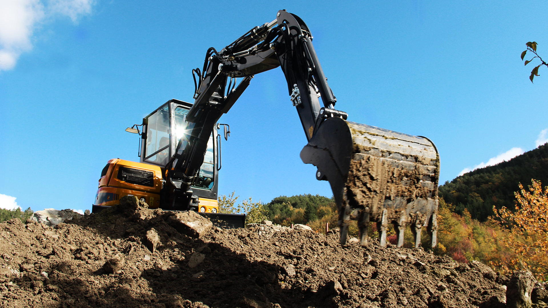 Construction machinery rental